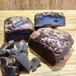 Brownie de chocolate 70% Pólen sem glúten