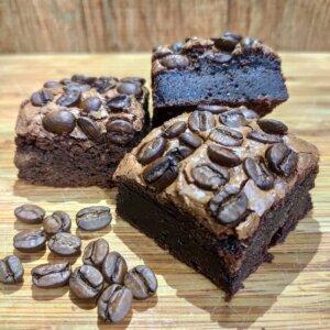 Brownie de chocolate 70% com café Pólen sem glúten
