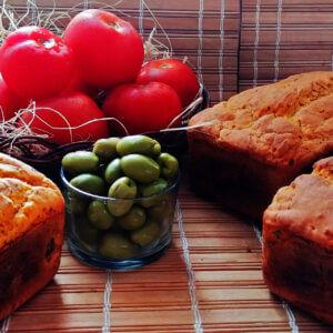 Pão de Tomate Seco e Azeitonas sem glúten Polén sem glúten Porto Alegre