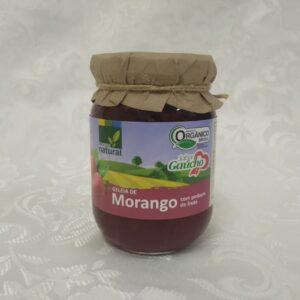 Geleia orgânica de Morango Coopernatural Polén sem glúten Porto Alegre