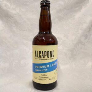 Cerveja sem glúten Premium Lager Al Capone Pólen sem glúten Porto Alegre