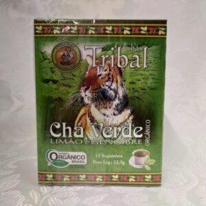 Caixa Chá Verde Tribal Brasil Pólen sem glúten
