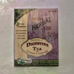 Chá Digestive Tea Brasil Pólen sem glúten